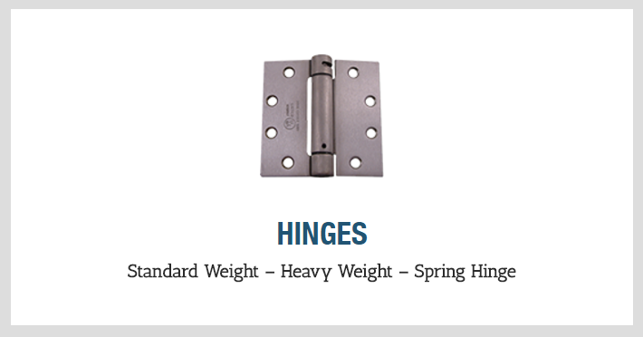 With A Huge Inventory And A Range Of In Stock Finish Options, You Can Find  All Your Hardware Needs At One Source.